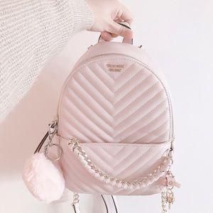 NWT! Victoria's Secret Pink Blush Mini Backpack